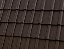 Черепица цвет гаванский коричневый